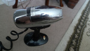 Oster Airjet Hair Dryer 1949 Model 202 Chrome (Only Cool Air)