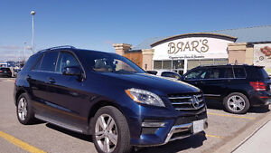 2015 Mercedes-Benz M-Class ML350 BlueTec SUV Lease Takeover