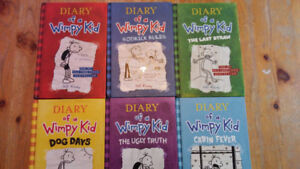 Full set #1-12 Diary of a Wimpy Kid