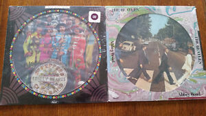 BEATLES 2 PICTURE DISCS--SEALED