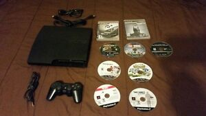 120gb PS3 console with extras asking $75 o.bo