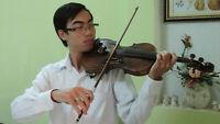 Violin lessons Level 1 to 8 of Suzuki lesson