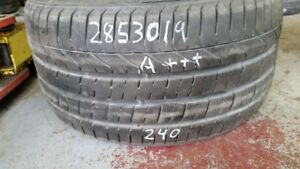 Single Pirelli PZero 285/30R19 tire (95% tread life)