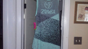 Zumba top and pants NEW
