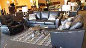 Apollo Leather Couch and Loveseat