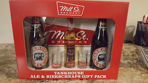 Unopened Mill St. Gift pack! Tankhouse ale and bierschaps