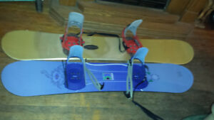 Salomon  & Mistral Snowboards with Bindings