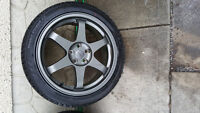 """REDUCED! Chevy Cruze !  4x Fast 18"""" Rim Winter iCept - 225/45R18"""