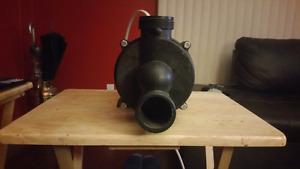 Jet tub pump