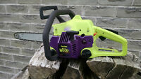 Scie a chaine Poulan Wildthing chainsaw
