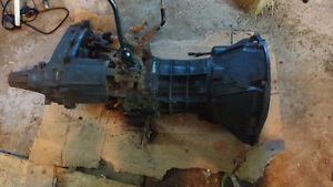 Jeep YJ transmission, transfer case and bell housing
