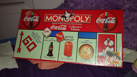 Coca-Cola Collector's Edition Monoply - New still sealled