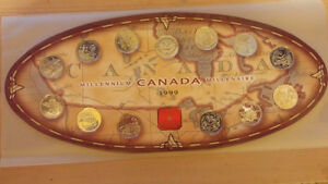 Canadian Mint 1999 Coin Set