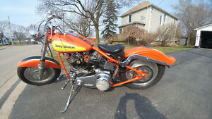 REDUCED. MUST SELL 1985 SHOVELHEAD STROKER RIGID