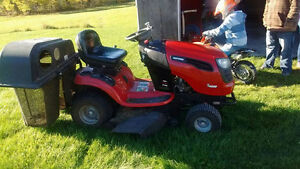Tracteur crafman 2014