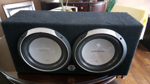 **NEED GONE TODAY** ROCKFORD FOSGATE SUBS
