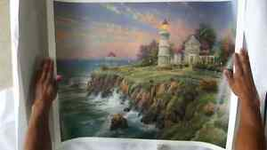Thomas Kinkade - Victorian Light Signed Lithograph Large 24 X 30