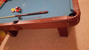 Pool Table w/ Accessories