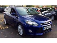 2014 Ford Focus 1.6 TDCi 115 Zetec Navigator 5 Manual Diesel Hatchback