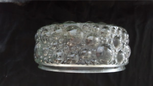 One MCM Clear Bubble Glass Ceiling Light Shade -style of Helena