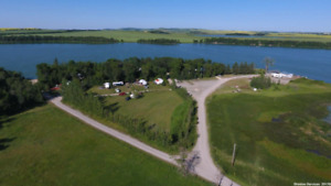 Lakefront seasonal Lots on power for rent