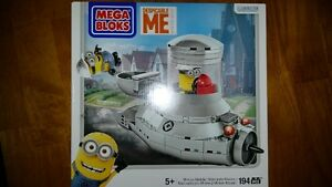Mega Bloks Despicable Me Minion Mobile 194 PCS