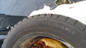 SOLD 4 Snow Tires for Sale R16 Belleville Belleville Area image 2
