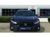 2021 Honda Civic 1.0 VTEC Turbo 126 EX 5dr CVT Petrol Hatchback Auto Hatchback P
