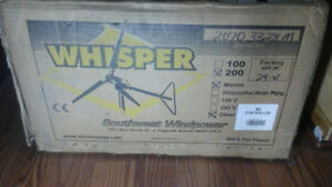 Southwest windpower whisper 200 wind generator