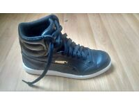 Original Puma black trainers boots women's shoes high tops