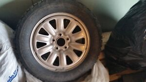 Mazda  Rims/Winter Tires only used 3 months