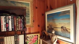 Vintage ART SALE Quality oil paintings various artists West Island Greater Montréal image 9