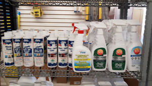 Boat Hull and Interior Cleaners