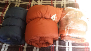 x3excellent condition sleeping bags