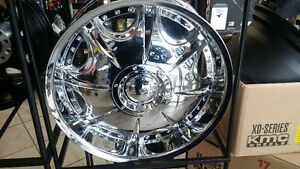 """Brand New 20"""" Chrome Rims Ford and Chev truck Bolt pattern"""