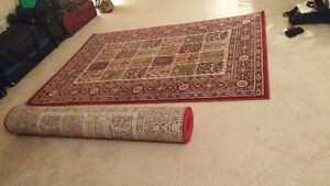 Two rugs 6 x 4 1/2 ft
