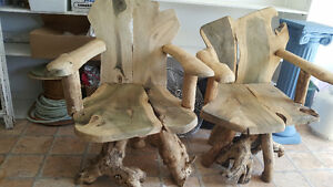 Pair of Tree Chairs