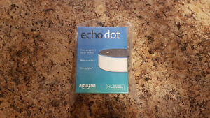 Amazon Echo Dot 2nd Generation / Alexa~NEW WHITE