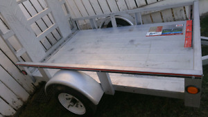 Almost new 4x6 Sterling trailer with folding ramp $800 obo