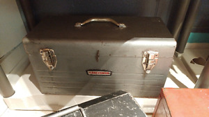 Various Metal Tool Boxes