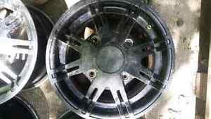 """12"""" aluminum can am rims NEED GONE"""