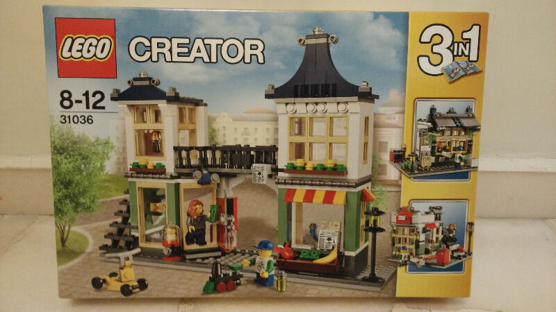 Brand New LEGO Creator: Toy & Grocery Shop (31036)