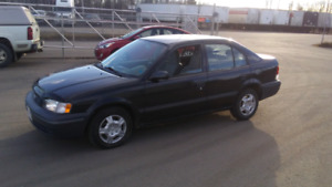 Brand new Inspection! 1999 Tercel $1850 Tax in