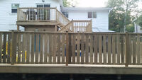 Deck installations/Repairs/Removals