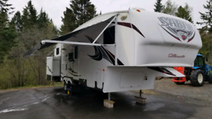 2013 Fifth Wheel Trailer Sabre 291BHTS with Bunks