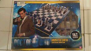 Doctor Who Lenticular Animated Chess Set