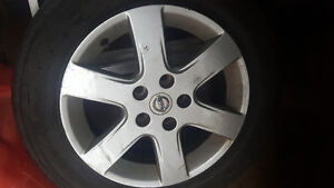 Nissan ultima summer tires and rims
