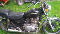 Kawasaki 750 belt driven