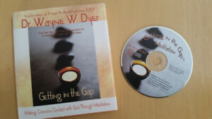 Getting in the Gap Hardcover Book/CD by Wayne Dyer (Meditation)