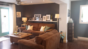Cozy, furnished 2 bdrm short term rental downtown